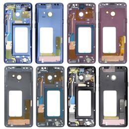 Oriente Médio Quadro Chassis Bezel Placa habitação para Samsung Galaxy S9 Além disso G965 6.2 de Fornecedores de reparação de tela sensível ao toque asus