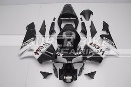 west fairing cbr Coupons - Free Custom New Injection Full fairings kit Fit for Honda CBR600RR 03 04 ABS fairing set CBR 600RR F5 2003 2004 black West