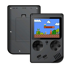 kids arcade games Promo Codes - Retro Portable Mini Handheld Game Console 3.0 Inch Big Screen Color LCD Kids Color Game Player have 168 games