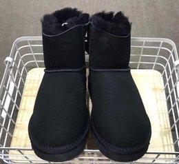 2019 bottes hauteur 13 Australien classique bottes au genou nouveau haute qualité femmes bottines bottes noir gris châtain marine bleu marine taille US5-13 bottes hauteur 13 pas cher