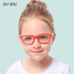 wholesale reading sunglasses Coupons - 2019 New Baby Anti-blue Light Silicone Glasses Brand Children Soft Frame Goggle Plain Glasses Kids Eye Fame Reading Sunglasses