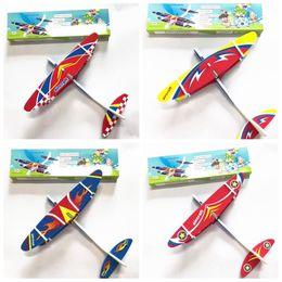 Argentina Niños eléctrico aeroplano modelo de juguete tiro de la mano Plane espuma lanzamiento del vuelo del planeador juego de aviones al aire libre interesante Juguetes MMA1897-0 supplier foam planes kids Suministro