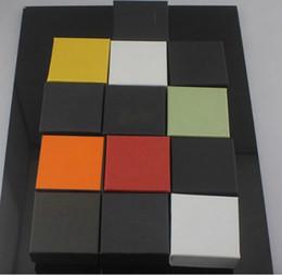 scatola di imballaggio del regalo del broccato Sconti Marca colore ingrosso confezionamento all-7 * 7 * 3,5 gioielli universale piccola piazza orecchini box, bracciali, gioielli casella anello