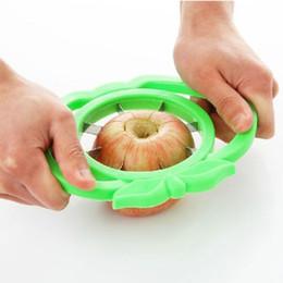 faca espiral Desconto Cortador de frutas multifuncional cortador de maçã aço inoxidável talhadeira saúde, segurança e proteção ambiental simples e conveniente