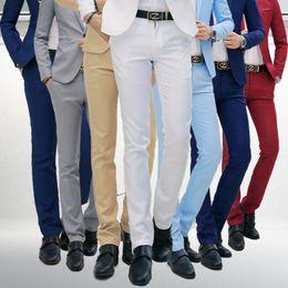 Pantalones cortos calientes online-Pantalones de vestir de negocios formal suave para hombres de ventas calientes Pantalones suaves casuales Pantalones