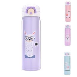 2019 bounce cup VA STUDIO 350ml 500ml Thermocup Bouncing Cover Flasche Isolierflasche Cartoon Sheep Pattern Thermobecher Travel Thermos Gift Cup günstig bounce cup