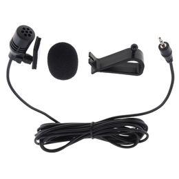 3m mikrofon online-PVC verdrahtet 2,5 mm Stereo Jack Mini 3m Auto Mikrofon Externes Mikrofon für PC Auto DVD / GPS Player / Radio Audio Mikrofon PMP_52F