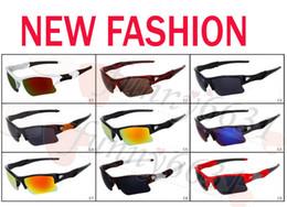 Verão marca nova moda masculina de vidro de bicicleta óculos de sol esportes óculos de condução óculos de sol de ciclismo 9 cores de boa qualidade frete grátis de