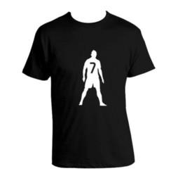 Argentina Vintage Tee Shirtsprinting O-cuello de manga corta para hombre Cristiano Ronaldo Cr7 cheap cristiano ronaldo shorts Suministro
