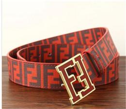 Luxus f gürtel online-Heißer verkauf Luxus 20 modelle Hohe Qualität Designer Mode schnalle F gürtel herren gürtel ceinture mit box als geschenk 8779