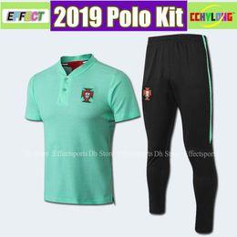 2019 nationale fußball-kits 2018 2019 National Polo-Kit für Portugal PEPE 7 RONALDO J.MOUTINHO EDER 10 J. MARIO BERNARDO NANI 20 QUARESMA 2018 Fußballuniform rabatt nationale fußball-kits