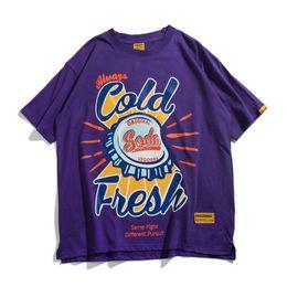 2019 новый мужской стиль рубашки 2018 Новый стильный бренд Tide Street Hip Hop Style Модельер футболка Мужская футболка с холодным содовым плотским письмом Мужская топ скидка новый мужской стиль рубашки