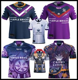 Camicia di storm online-2019 maglia melbourne storm rugby Commemorative Edition 19 2020 National Rugby League MELBOURNE STORM ANZAC maglia rugby