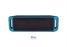 Nouveauté Mini SC208 Bluetooth 4.0 Haut-parleur sans fil TF Carte SD USB FM-radio Double Bluetooth Haut-Parleur Basses Son Subwoofer Haut-parleurs ? partir de fabricateur