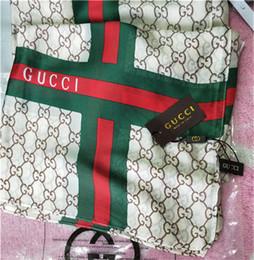 envoltórios de lenços de botão Desconto 20 cores atacado designer de luxo cachecol moda impressão cachecol xale de praia macia feminino decorativo lenço 190 * 90 cm