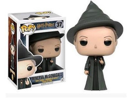 china doll christmas Coupons - Minerva McGonagall Funko POP Movies Harry Potter PVC Action Figures Doll Collection Model Birthday Christmas Gifts Toys Ornaments Toys