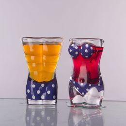 2019 occhiali da cristallo Creativo Trasparente Bicchiere da Birra Sexy Bar Night Club Pezzo di Bellezza Personalità Body Cup Personalizzato Bikini Intimo Sculpt Drink Cup