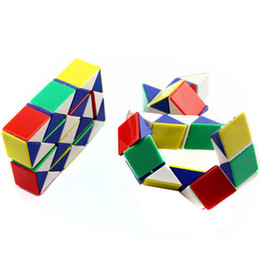 Enfants Coloré Magique Serpent Forme Cube Twist Puzzle Jeu Jouets Éducatifs Nouveau Mode Jouets Loisirs ? partir de fabricateur