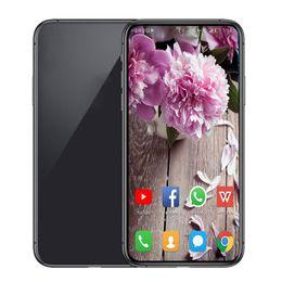 grande bateria smartphone Desconto Goophone 11 6.5inch 2019 10 5.8inch 9 Android 8.0 Quad Core 1GB caixa de 16GB 3G WCDMA 13MP smartphones desbloqueado selado