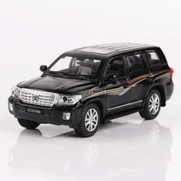 ford druckguss-metall-modell Rabatt 4 offene Tür Kinderspielzeug, Land Cruiser 1:32 Legierung, Web-Promi-Automodell