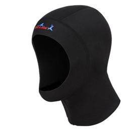 Tapa de buceo de natación 1MM Gorra de buceo de neopreno Nado cálido Surf Tapa de tapa de snorkel # 2P10 desde fabricantes
