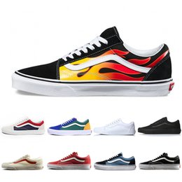 2fb2208e8d8 Cheap Original Brand old skool Classic men women canvas sneakers black white  red YACHT CLUB MARSHMALLOW fashion skate casual shoes 36-44