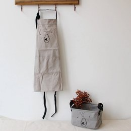 2019 фартуки для барбекю New simple Kitchen antifouling kid apron Cooking Apron Coverall Tablier Pinafore Chefs Barbecue Baby aprons дешево фартуки для барбекю
