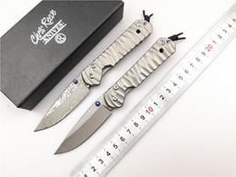 Chris Reeve Sebenza 21 Küçük Pocket Knife CR Katlanır Bıçaklar D2 Blade CNC Titanyum Kolu Açık Kamp Balıkçılık EDC Bıçak nereden