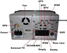 2019 chino pantalla grande tv Pure Android 4.4 7inch Car DVD Player para Focus / Mondeo / S-max / C-max / Galaxy / Fiesta Form / Fusion / Conectar con GPS 3G Radio de mapa Wifi