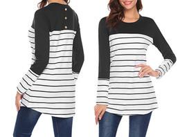 vestiti per l'allattamento Sconti Maternity Tops Long Jacket Clothing Donne incinte in lattazione materna Suit Stitching Maternity Pregnant Clothes Loose Type 58