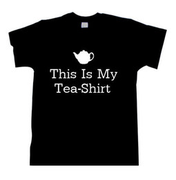 green tea men Promo Codes - This Is My Tea-Shirt Tea T-Shirt Tshirt shirt Tea Shirt denim clothes camiseta t shirt