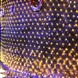 10 M x 8 M 2000 LED Luzes Da Rede de Natal 8 Modos De Malha de Fadas Luzes Da Corda para as Árvores de Natal de Casamento Jardim Luzes Da Corda Ao Ar Livre de Arbustos de Fornecedores de árvore de natal de compensação