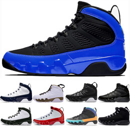 tecido de fibra de carbono azul Desconto retro retros 9 shoes Designers 9 9s Sonhar, fazê-lo Tênis de basquete para homens antracite Mop Melo OG jam espaço O Espírito Criados Sports Formadores Sneakers