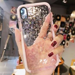 Für apple xs diamant muster handy case xs max silikon abdeckung weiche volle paket von Fabrikanten