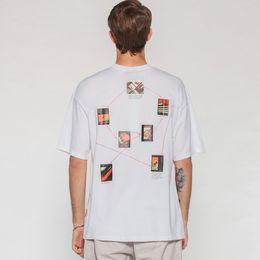 Yaratıcı Bilim Grafik Baskılı Kısa Kollu Tişörtleri Streetwear Erkekler 2019 Hip Hop Rahat Üst Tees Erkek Moda T Shirt nereden
