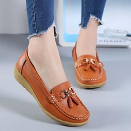 Cunei casual di scarpe da barca online-zandalias de mujer terlik Donne Cunei Casual Fondo morbido All'aperto Per il tempo libero Piselli leggeri Scarpe da barca Ligth Zapatos Mujer