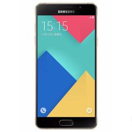 Deutschland Original überholte Samsung Galaxy A7 2016 A7100 Dual-SIM 5,5 Zoll Octa Core 3 GB RAM 16 GB ROM 13MP 4G LTE entsperrt Smartphone DHL 1St Versorgung