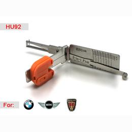 2019 decodificador de escolha inteligente Inteligente HU92 2 em 1 auto pick e decodificador para BMW, ferramenta de serralheiro frete grátis decodificador de escolha inteligente barato