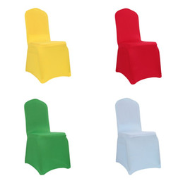 Coprisedile elastico addensato Coprire la sedia per la moda Hotel Banquet Conference Hotel Cuscino universale per sedia T3I5008 da copricapi blu per matrimoni fornitori
