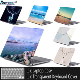 macbook air 11 inch keyboard case Promo Codes - New laptop Case For MacBook Air Pro Retina 11 12 13 13.3 15 15.4 inch with Touch Bar 2016 2017 2018 bag+Keyboard Cover