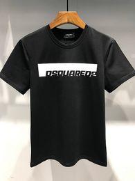 2019 cubierta bieber 19ss DS2 Logo Disco Punk Print Diseñadores de Italia CAMISETA Hombre Camisas Streetwear Hombre Mujer Pantalones cortos Camiseta Tops Pantalones cortos Camiseta Ropa Dt354