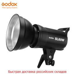 Gigante libre DHL Godox LED SL-60W 5600K Versión blanca Video continuo Luz Bowens Mount para grabación de video de estudio desde fabricantes