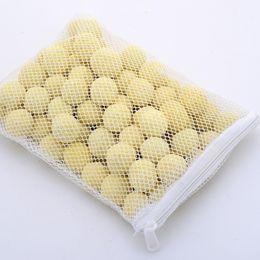 2019 peixe aquário filtro de água 500g Meios de Filtração Do Aquário Do Tanque de Peixes Bactérias Nitrificantes Limpeza Da Água Bola Bioquímica Com Malha Saco 5 8 sx Ww peixe aquário filtro de água barato