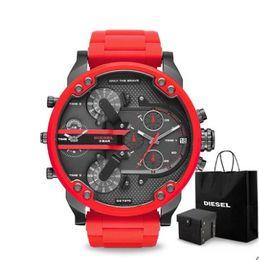 Argentina Todos los trabajos Luxury Sport militar montres mens nuevo reloj original gran dial pantalla relojes dz reloj dz7331 DZ7312 DZ7315 DZ7333 DZ7401 supplier big luxury watches Suministro