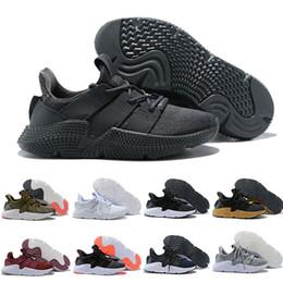 Adidas Prophere 2018 Hochwertige Originale Prophere Climacool EQT 4s Vier Generationen Clunky Shoe Sport Laufschuhe schwarz Freizeitschuhe Turnschuhe