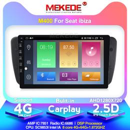 banco de carro ibiza Desconto 8core IPS tela 4G LTE Android10.0 Car Multimedia DVD player para Seat Ibiza 6J 2009-2013 Com DSP RDS GPS embutido Carplay BT