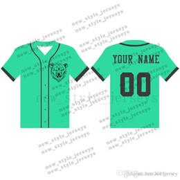 41MAN на заказ трикотажных изделий бейсбола дышащий 2019 Мужчины молодежь Quick Dry Синий белый прошитой M-XXXL Зеленый бейсбола трикотажных изделий от Поставщики черные джерси желтые полосы