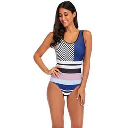 69af1f31ad8 Bikini Two-piece Set Bikini Patchwork Color High Waist Swimsuit For Women  Bathing Suit Swimwear Gym Pool Swim Wear S-XL Size 6