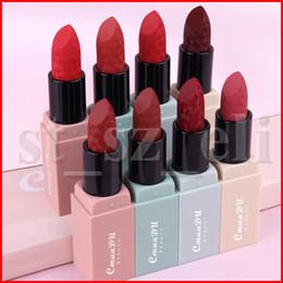 sexy wasserdichter stick Rabatt CmaaDu 8 Farben Lippen Make-up wasserdichte Matte Lippenstift Long Lasting Partei Lip Stick Sexy Frauen levre Rouge