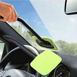 2020 limpador de janela de carro ferramenta Microfibra pára-brisa Easy Clean Car Wiper limpador de vidro Ferramenta Janela escova Mikrofaser Scheibenreiniger Auto Wunder Autoglas limpador de janela de carro ferramenta barato